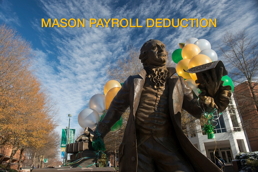 George Mason University Alumni - Employee Payroll Deduction ...
